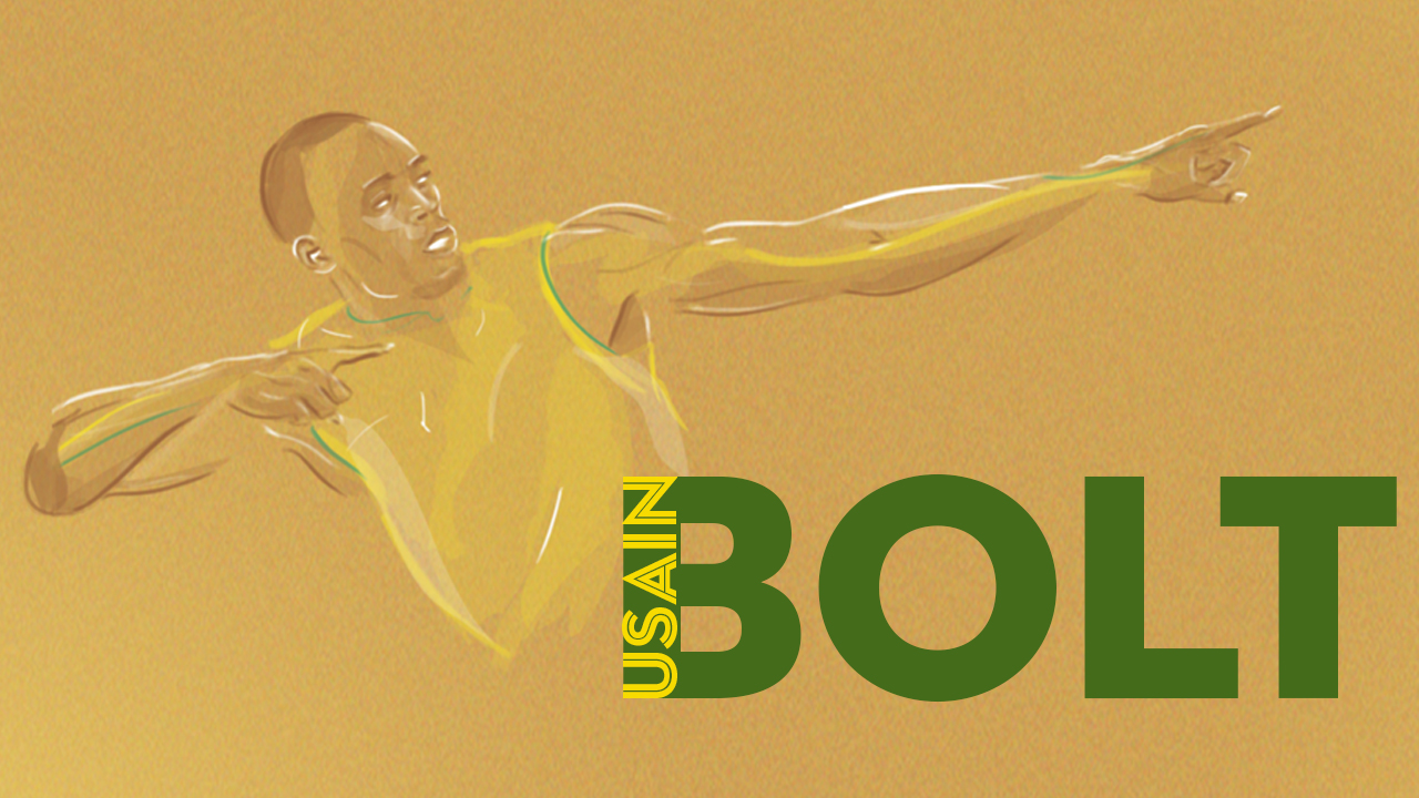 Usain Bolt animation