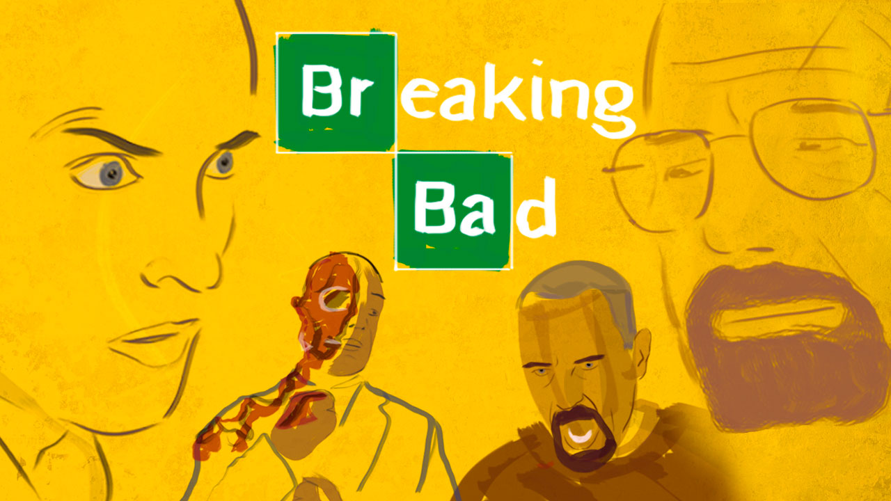 The animated story of Breaking Bad