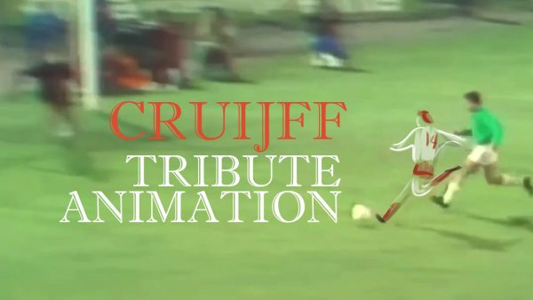 Johan Cruyff 14 animated Tribute