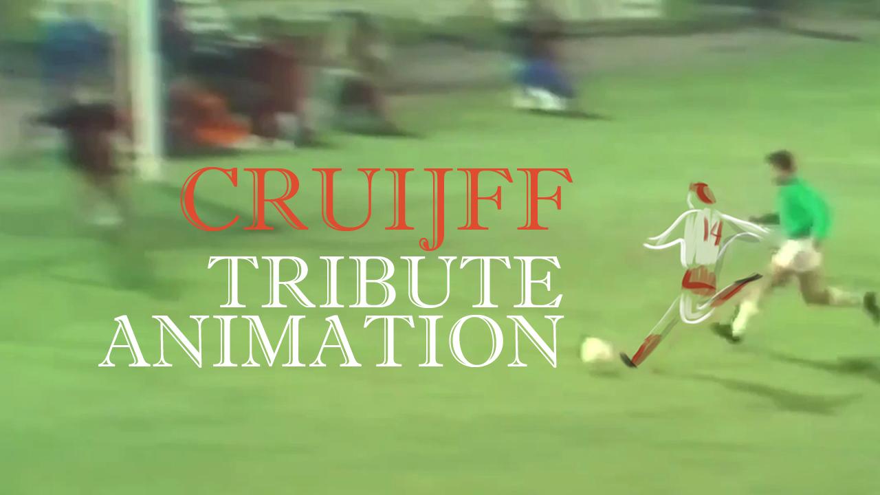 Johan Cruyff 14 animated Tribute