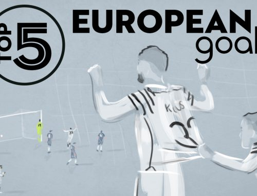 Top 5 European Goals – Stefanos Athanasiadis animation
