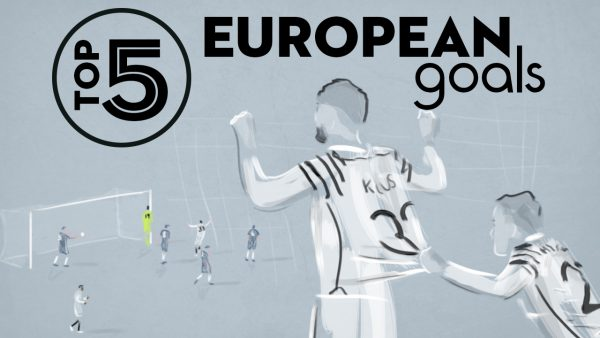 Top 5 European Goals - Stefanos Athanasiadis animation
