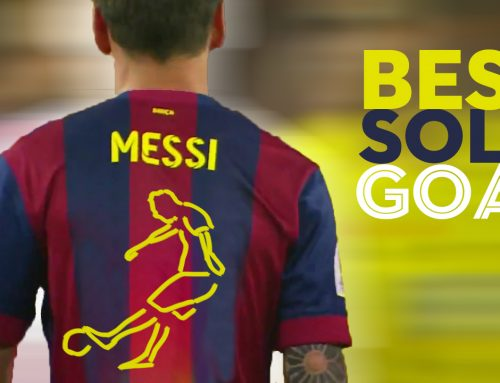 Best solo goal by Messi