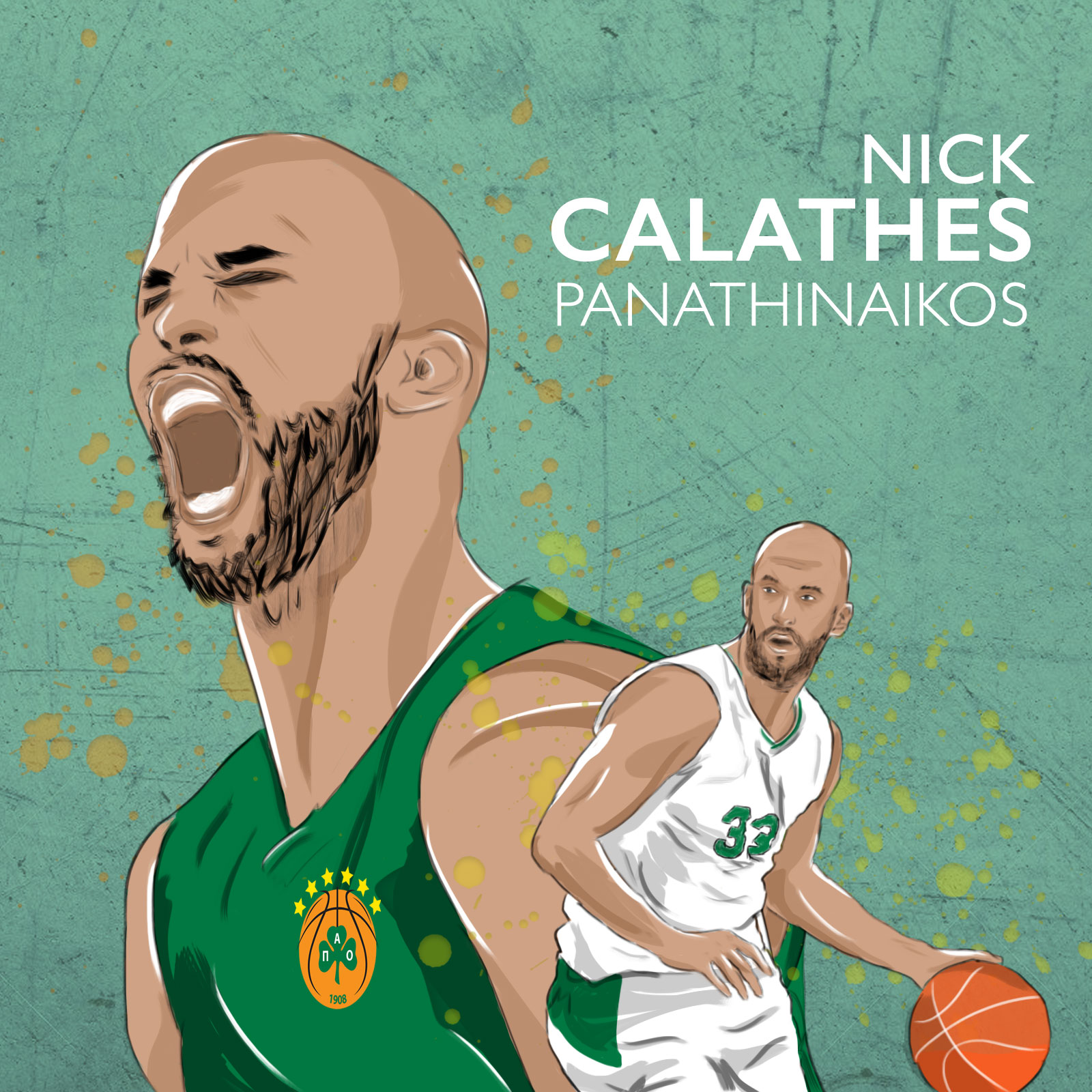 Nick Calathes - Smado Animation