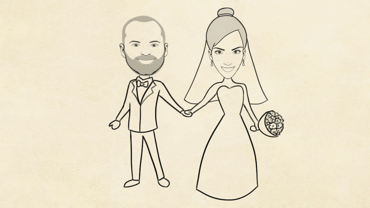 Thodoris & Christina wedding - Smado Animation